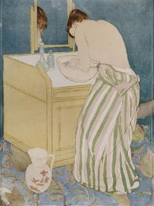 Woman Bathing, 1890-91 by Mary Cassatt