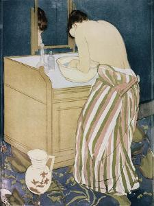 Woman Washing Hands by Mary Cassatt