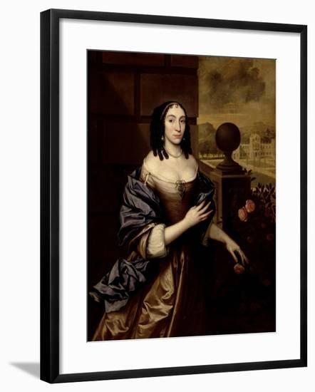 Mary, Duchess of Buckingham-John Michael Wright-Framed Giclee Print