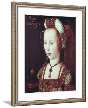 Mary, Duchess of Burgundy (1457-1482)--Framed Art Print