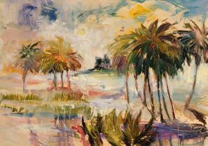 Smoleony Sunset by Mary Dulon