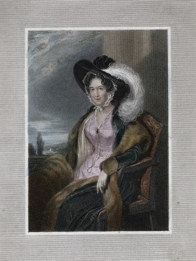 Mary Elizabeth, Baroness of Clifford, 1828-J Wright-Giclee Print
