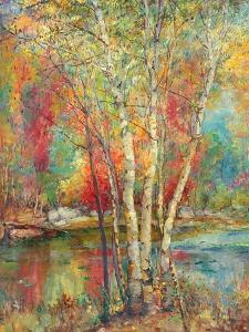 Silver Birches, c.1929 by Mary Ella Williams Dignam