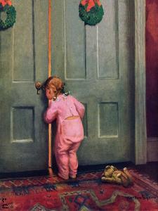 """""""Christmas Peek,""""December 22, 1934 by Mary Ellen Sigsbee"""