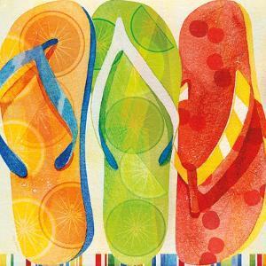 Beach Flip Flops by Mary Escobedo