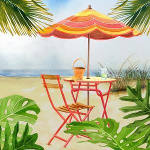 Beachside Dining 2 by Mary Escobedo