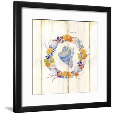 Coastal Wreath and Shell 3