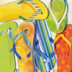 Summer Flip Flops by Mary Escobedo