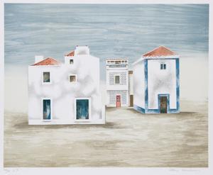 Algarve Landscape by Mary Faulconer