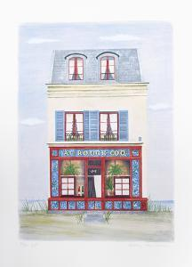 Au Rouge Coq Chantilly by Mary Faulconer