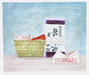 China Tea Laver by Mary Faulconer