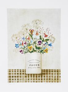 Flowers Rue Jacob by Mary Faulconer