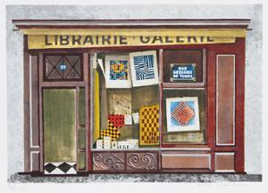 Librarie Galerie by Mary Faulconer