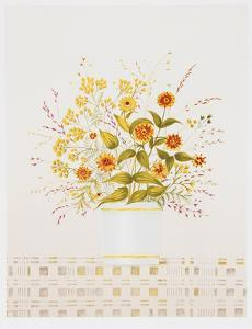 Marigolds by Mary Faulconer