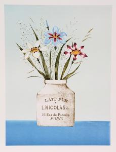 White Iris by Mary Faulconer
