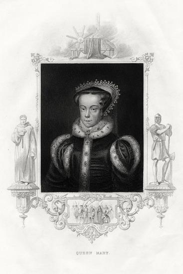 Mary I (1516-155), also known as Mary Tudor, 1860--Giclee Print