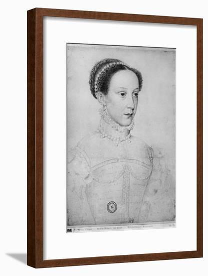 Mary I Stuart, Queen of Scots-Francois Clouet-Framed Giclee Print