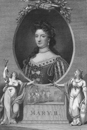 'Mary II', 1790-Unknown-Giclee Print