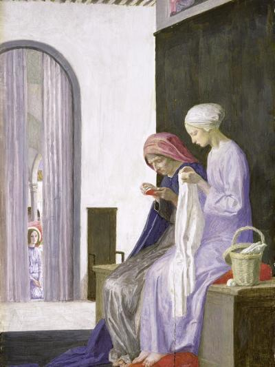 Mary in the House of Elizabeth, 1917-Robert Anning Bell-Giclee Print