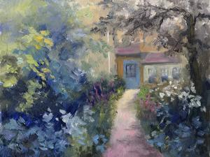 Cotswold Cottage VI by Mary Jean Weber