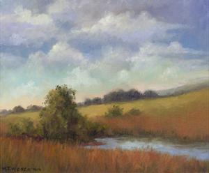 September Fields by Mary Jean Weber