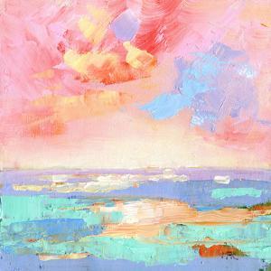 Abstract Seascape by Mary Kemp