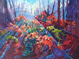Autumn In The Woods by Mary Kemp