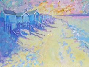 Beach Huts by Mary Kemp