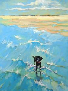 Black Labrador by Mary Kemp