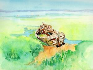 Boat Skeleton by Mary Kemp