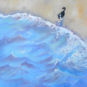 Border Collie Stepping Out by Mary Kemp