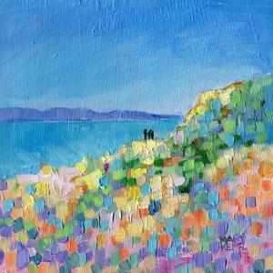 Clifftop Walk by Mary Kemp