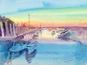 Evening Harbor by Mary Kemp