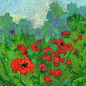 Fifteen Poppies by Mary Kemp