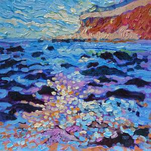 Hunstanton Cliffs by Mary Kemp