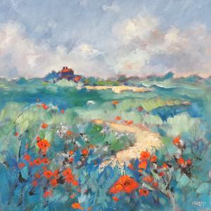 Poppies In Norfolk by Mary Kemp