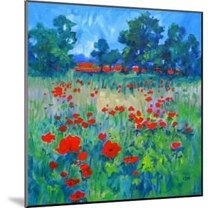 Poppy Field by Mary Kemp