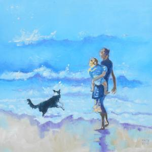 Stoll Along The Beach by Mary Kemp