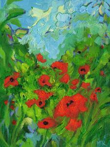 Twenty One Poppies by Mary Kemp