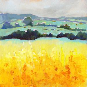 Yellow Fields by Mary Kemp