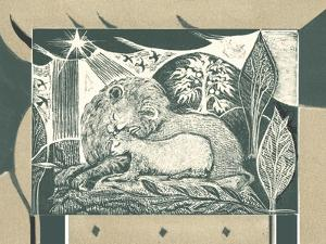 And the Lion Will Lie Down with the Lamb by Mary Kuper
