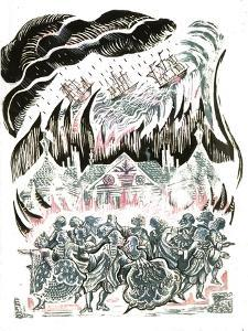 Beauty and the Beast: the Storm by Mary Kuper