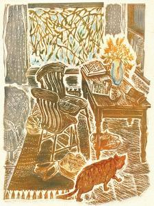 Ginger Cat by Mary Kuper
