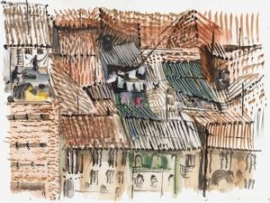 Rooftops, Bogota by Mary Kuper