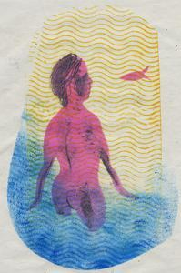 Swimmer by Mary Kuper