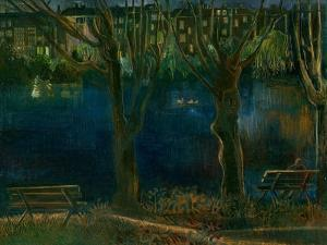 The Pond; South End Green by Mary Kuper