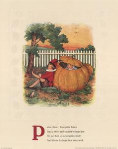 Peter, Peter Pumpkin Eater by Mary LaFetra Russell