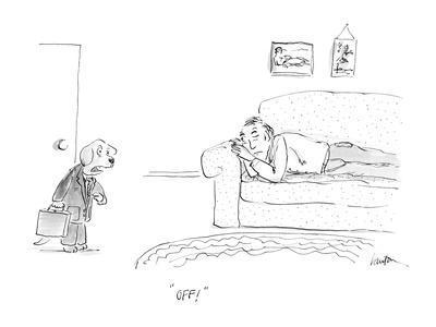 """Off!"" - Cartoon"
