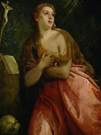 Mary Magdalen Penitent, 1583-Paolo Veronese-Giclee Print
