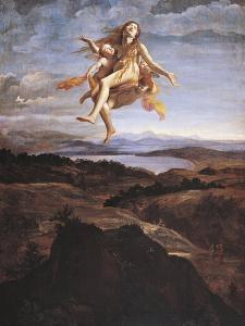 Mary Magdalene Assumed into Heaven by Angels